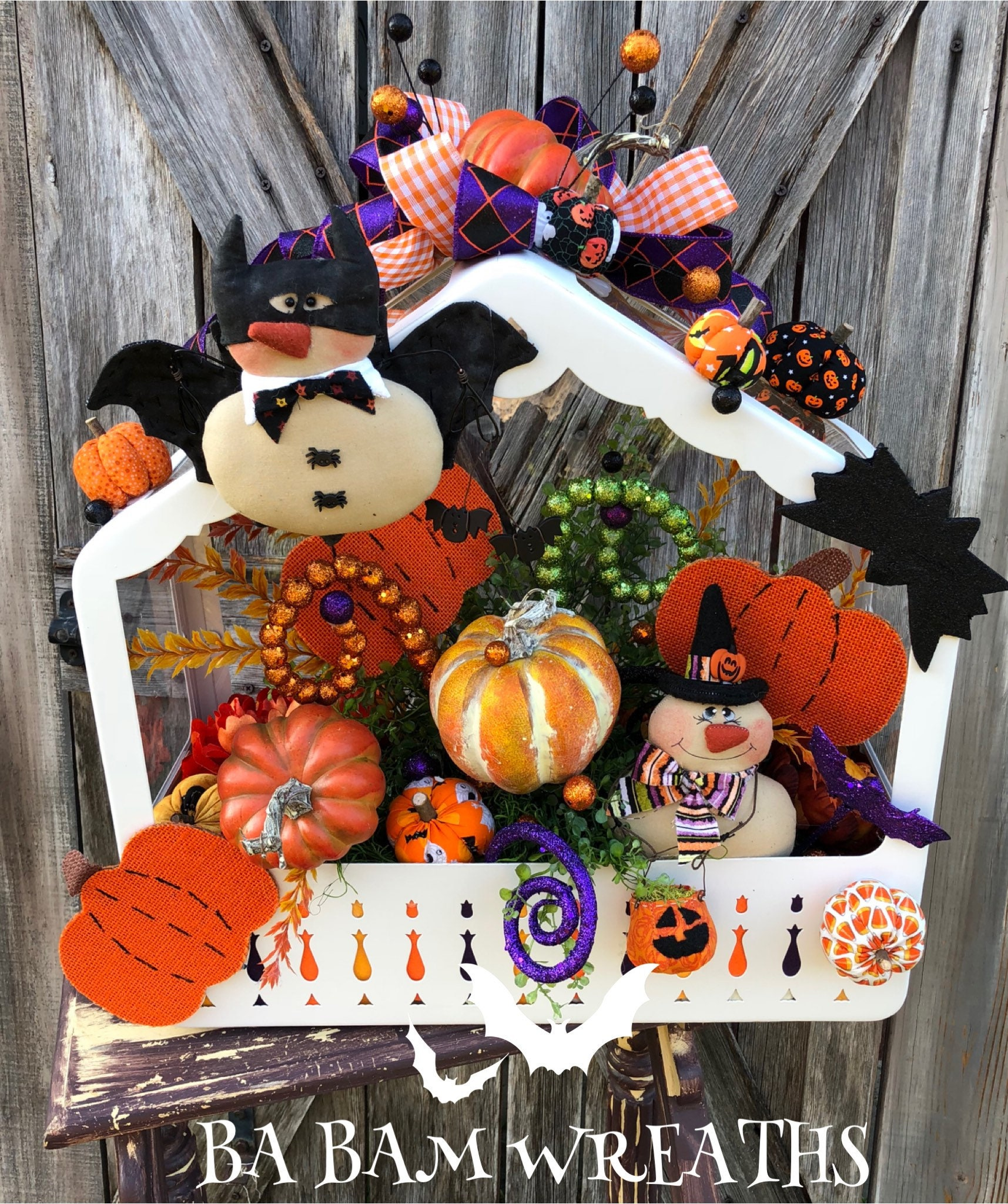 Halloween Centerpiece Halloween Decor Fall Centerpiece Fall Decor Pumpkin Centerpiece