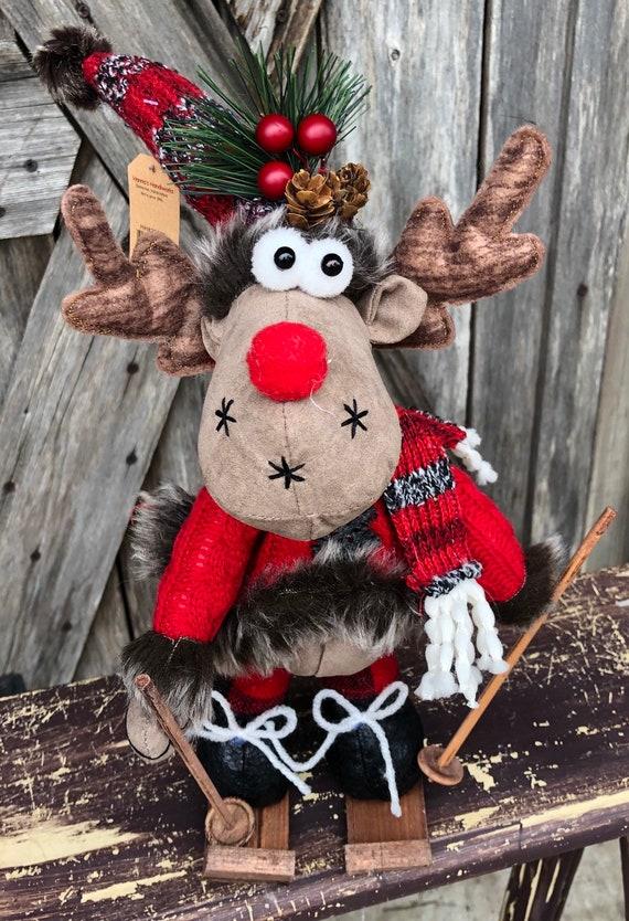 Moose Plush, Moose Wreath Attachment