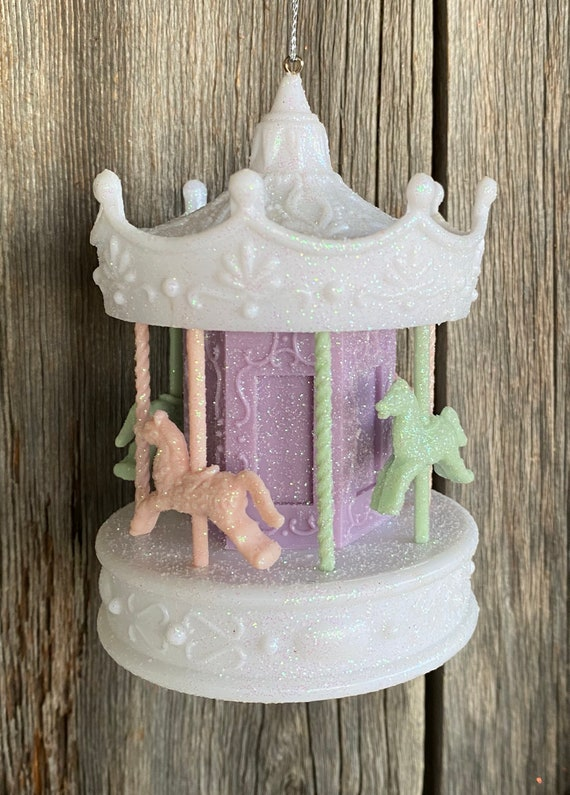 Sweet Dreams Carousel Ornament 4 Inch