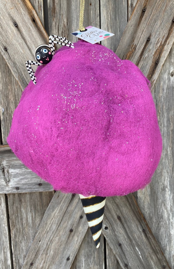 Glitterville Cotton Candy Purple
