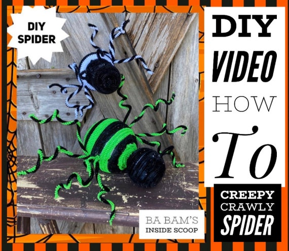 How To Video, How To Make Spiders
