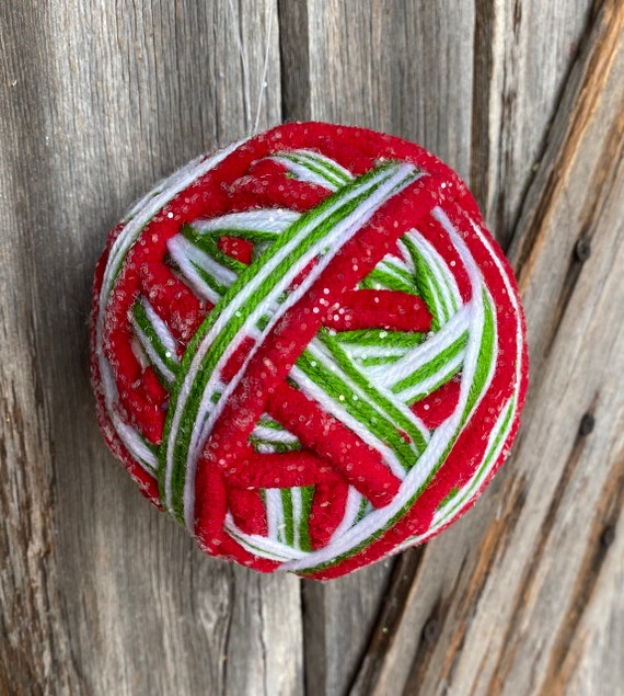 Red Yule Ball Ornament