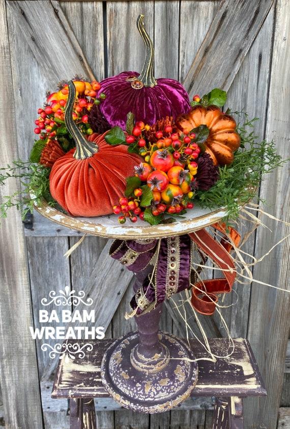 Fall Centerpiece, Fall Floral, Autumn Centerpiece, Autumn Floral, Pumpkin Decor