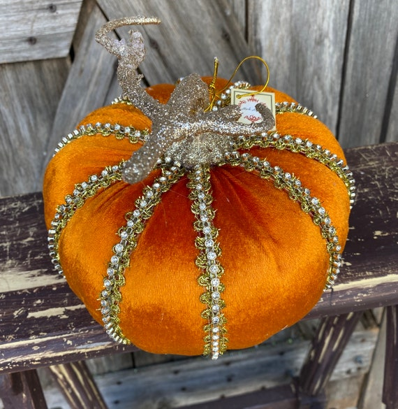 Pumpkin, Jeweled Orange