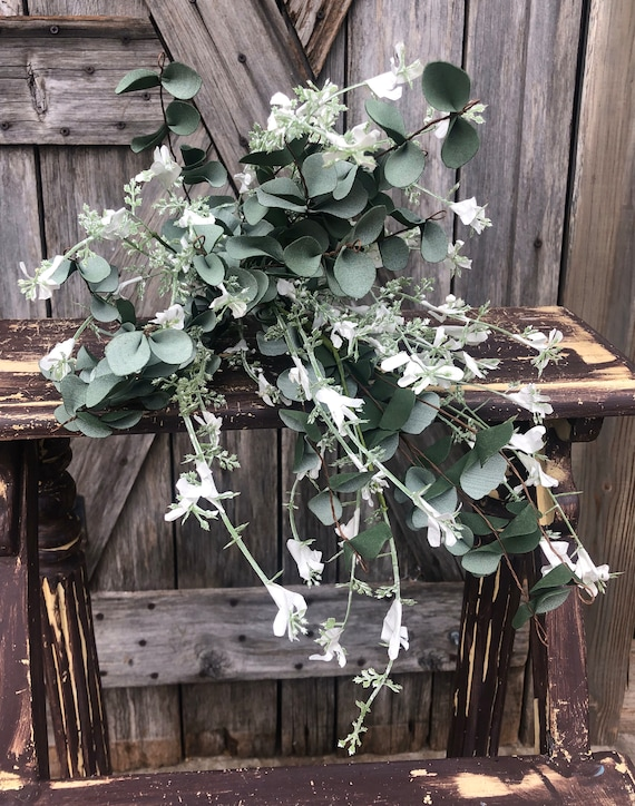 White Honeysuckle Bundle, Wreath Supply, Floral