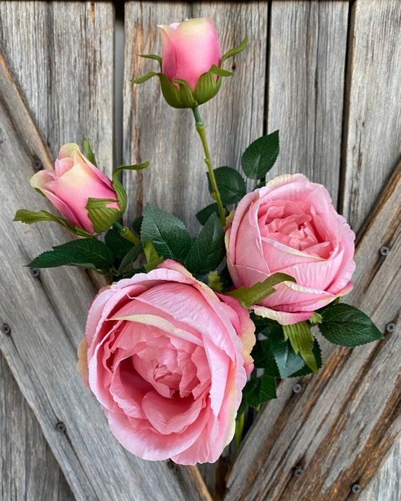 Pink Rose Spray