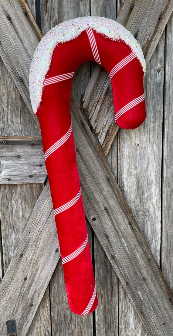 Giant Red Candy Cane