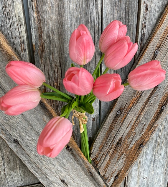 Real Touch Pink Tulip Bundle