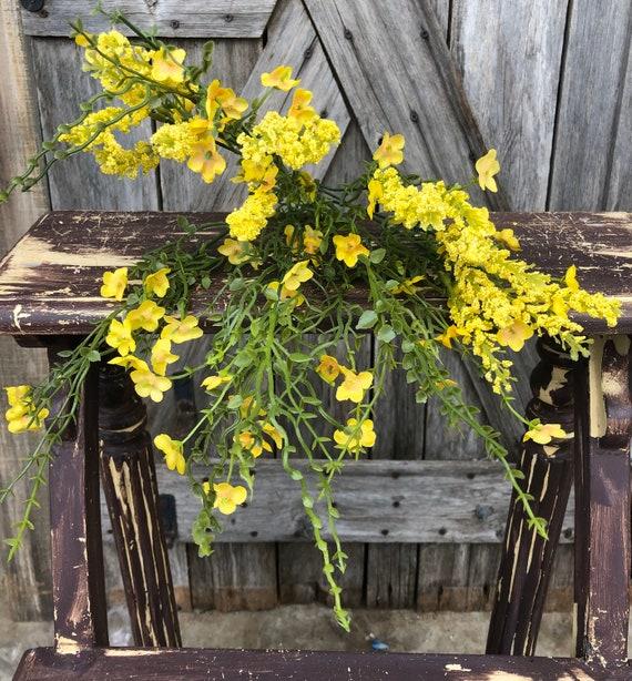 Baby's Breath Yellow Bundle, Wreath Supply, Floral