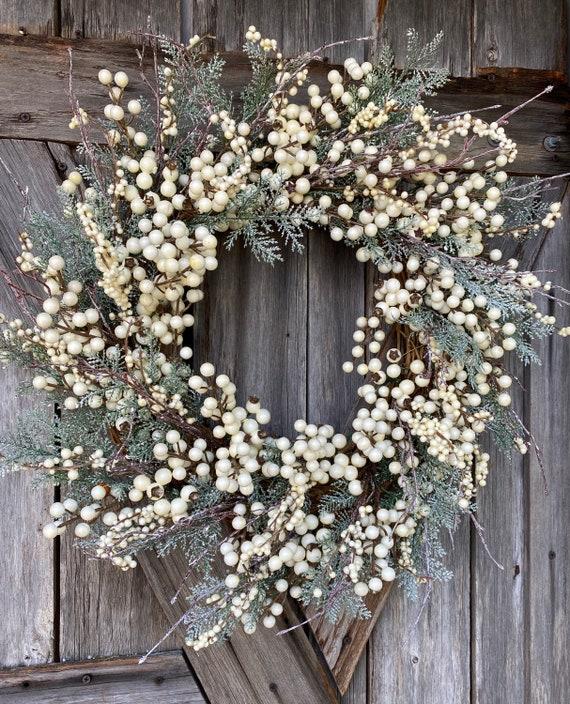 Autumn Wreath, Berry Wreath, Natural Wreath, Farmhouse Wreath, Fall Wreath