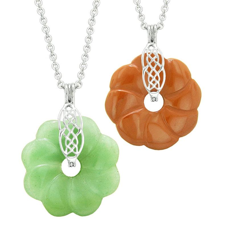9af63ec09b Yin Yang Celtic Shield Knot Flower Amulets Love Couples or   Etsy
