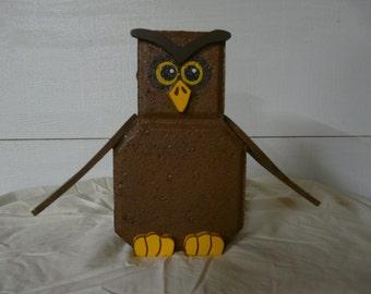 Owl Patio Block