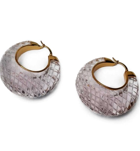 CELINE earrings | gold Celine hoop earrings | aut… - image 3