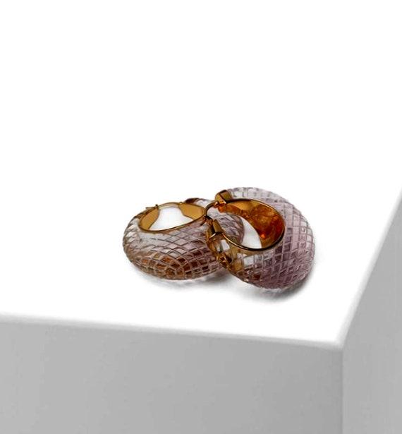 CELINE earrings | gold Celine hoop earrings | aut… - image 2