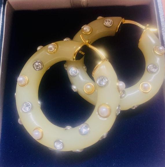 CELINE earrings | gold Celine hoop earrings | aut… - image 9