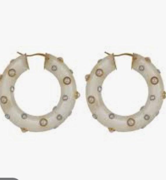 CELINE earrings | gold Celine hoop earrings | aut… - image 4