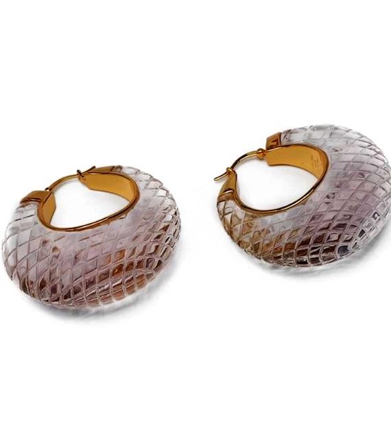 CELINE earrings | gold Celine hoop earrings | aut… - image 6