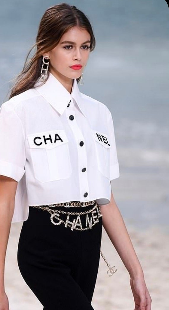 Chanel belt or necklace| gold chain  CC Chanel cha