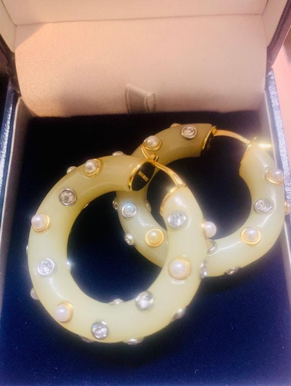 CELINE earrings | gold Celine hoop earrings | aut… - image 7