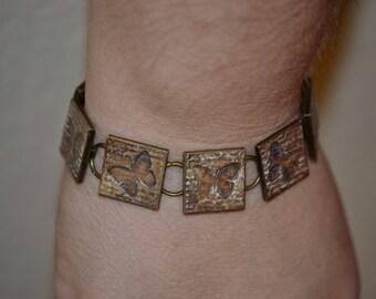 Handmade - Butterfly Script Bracelet
