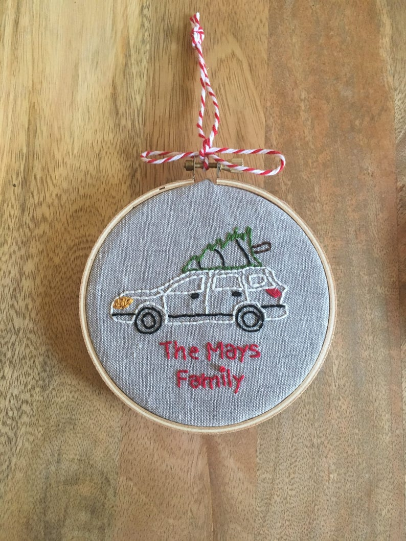 Subaru Family Ornament image 0
