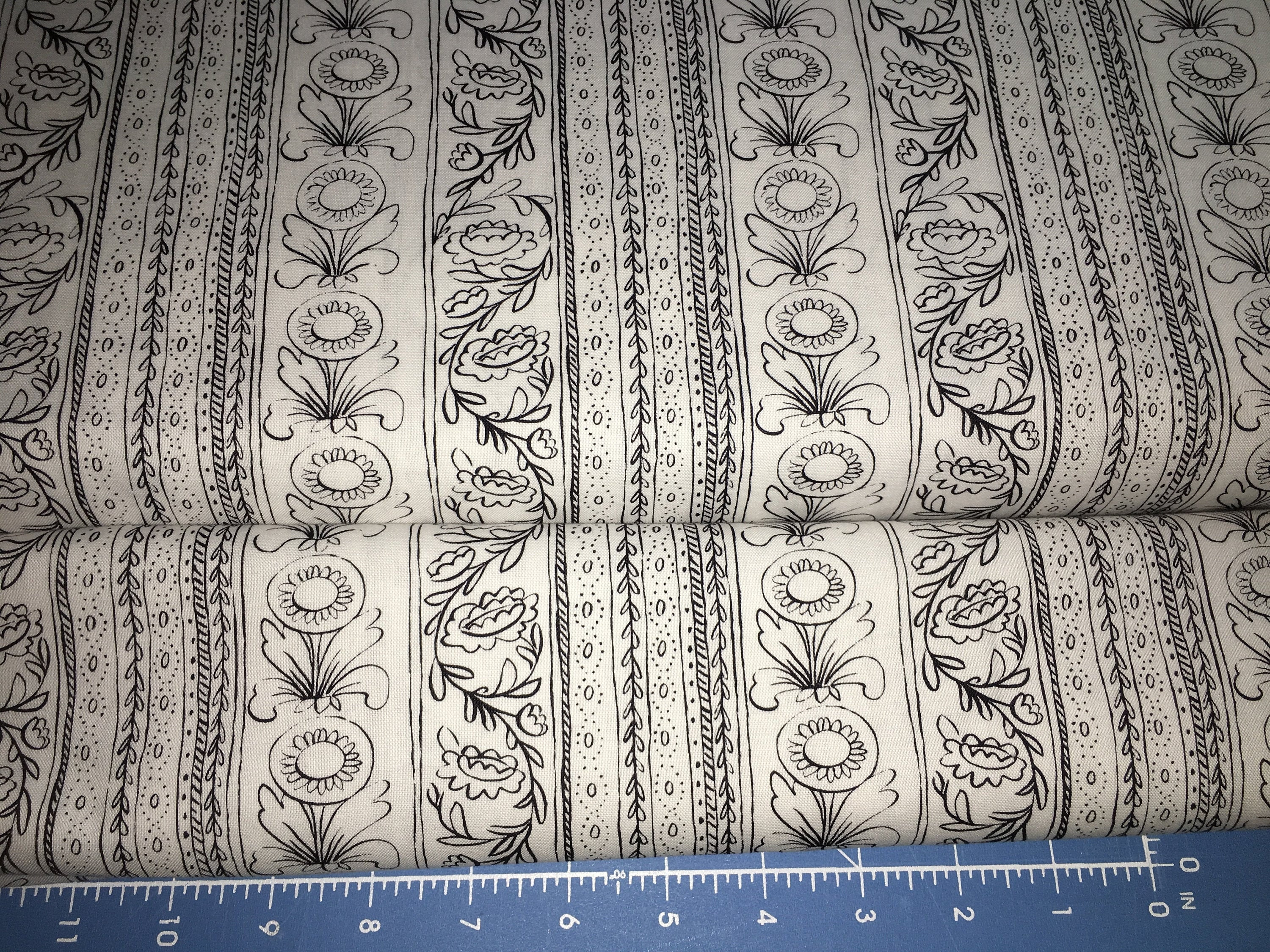 Molly Hatch FRENCH HEN Fabric Sold by the 12 yard Anthropologie Anna Griffin Blend Fabrics