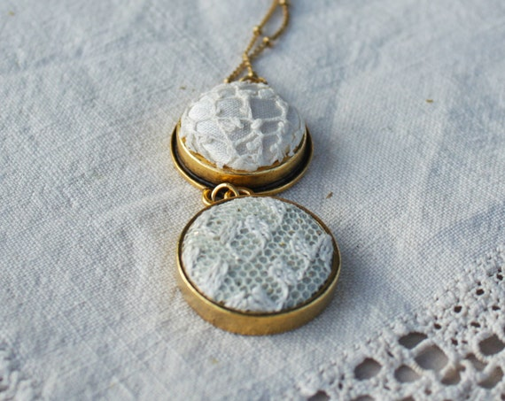 Flora Mother Daughter Necklace