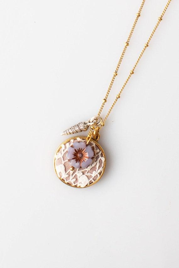 Diana Wedding Keepsake Necklace