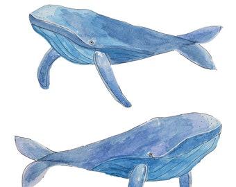 Whale Print | Digital Download
