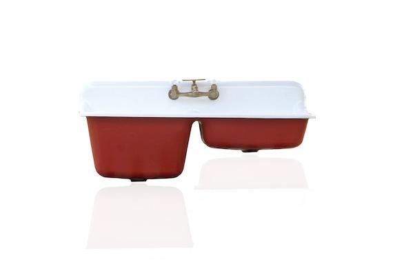 Farm Sink 47 Cast Iron Double Basin Deep Kitchen Sink | Etsy