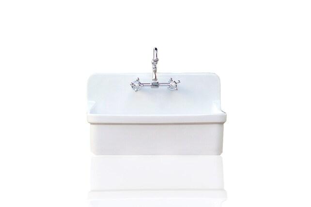Vintage Style High Back Farm Sink Apron Kitchen Utility Sink | Etsy