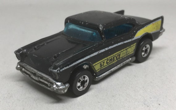 Vintage 57 Chevy Hot Wheels Diecast Car Chevrolet Bel Air Etsy