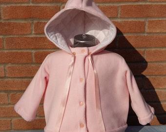 Hooded jacket for children