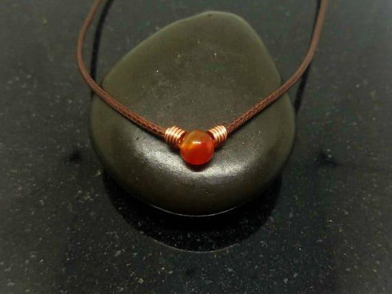 Carnelian necklace choker, Healing Choker Necklace, Crystal Choker, Crystal choker, Crystal Necklace, Healing Jewelry, Stone Choker