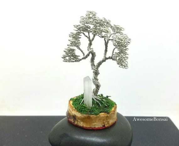Tree of Life, Wire Wrapped, Custom, personalized Sculpture, Wire Tree Sculpture , Wire Bonsai Tree, Wire Tree, Wire Sculpture, Home Decor