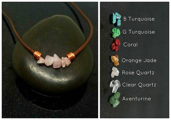 Gemstone, necklace choker, Healing Choker Necklace, Crystal Choker, Crystal choker, Crystal Necklace, Healing Jewelry, Stone Choker