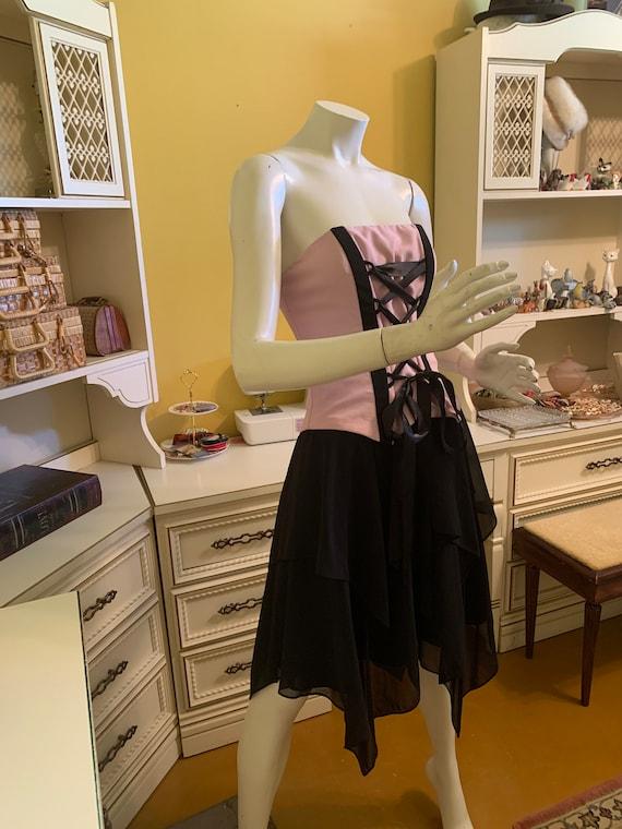 Vintage Jessica McClintock for Gunne Sax corset d… - image 2