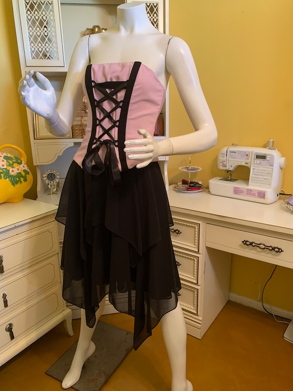 Vintage Jessica McClintock for Gunne Sax corset d… - image 5