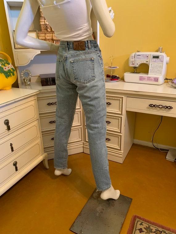 Vintage 70's/80's Calvin Klein easy fit jeans - image 8