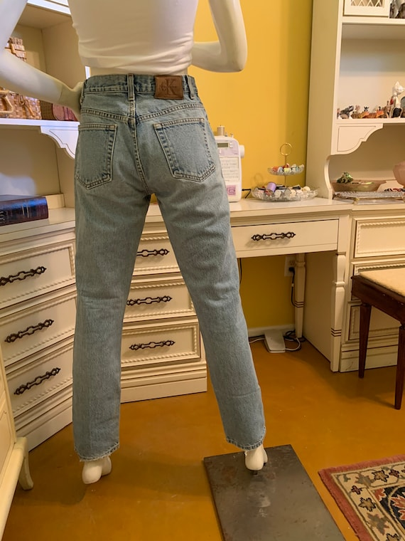 Vintage 70's/80's Calvin Klein easy fit jeans - image 6