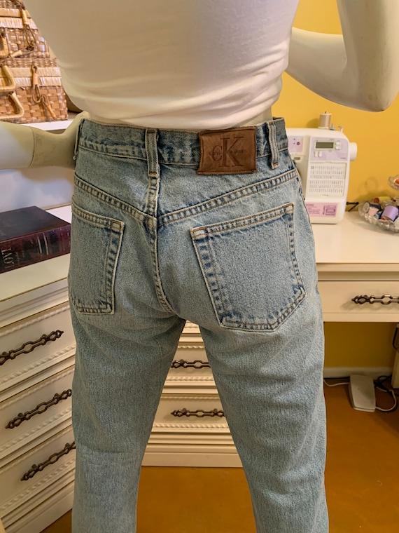 Vintage 70's/80's Calvin Klein easy fit jeans - image 9