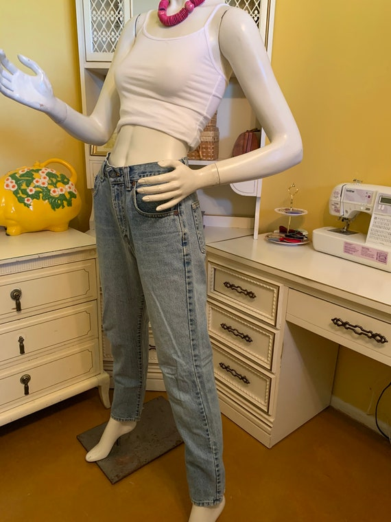 Vintage 70's/80's Calvin Klein easy fit jeans - image 10