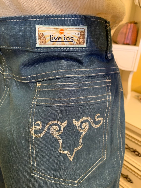 RARE 70's Levi's Live ins flare  jeans
