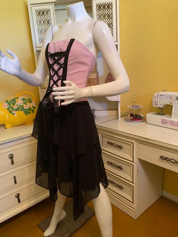 Vintage Jessica McClintock for Gunne Sax corset d… - image 4