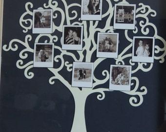Photo Tree frames, Retro Tree Design, Family Tree Gifts Photo Gifts Shadow Box Frames