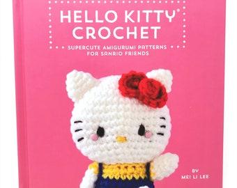 d0e832f97 Hello Kitty Crochet - Amigurumi Book By Mei Li Lee!