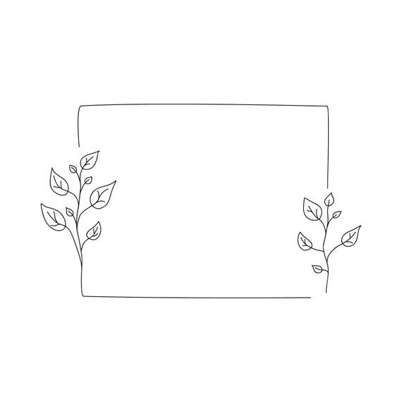 Minimalist Rustic Floral Frame Svg Botanical Frame Square Etsy Cleanpng provides you with hq rustic floral transparent png images, icons and vectors. minimalist rustic floral frame svg botanical frame square frame svg png jpg and ai wedding or birthday or thank you card template