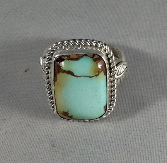 Royston Turquoise Mens Ring