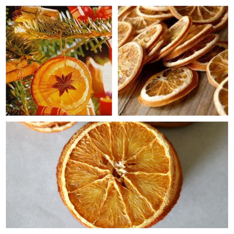 15 Dried Orange Slices Decoration Ideal For Christmas Etsy