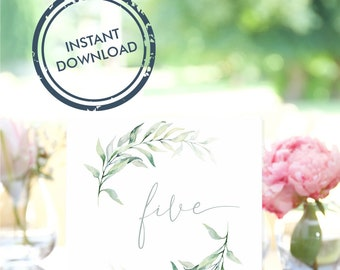 """Eucalyptus Table numbers 1 to 15 